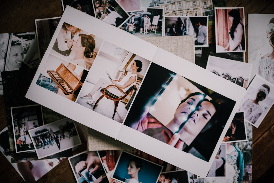 livre mariage photographies
