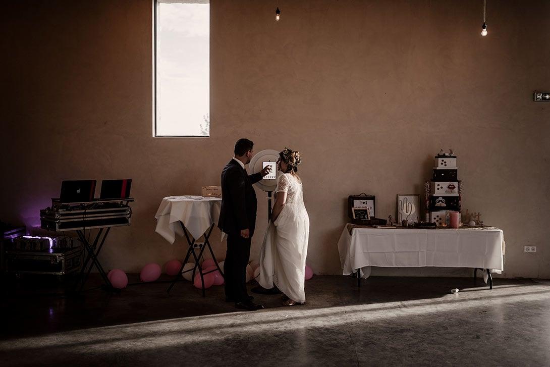 mariés sur la borne a selfie josefo.fr