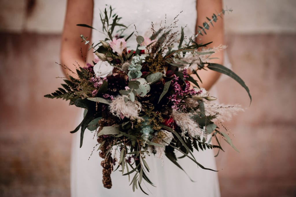 bouquet  de fleur de mariage à Deauville