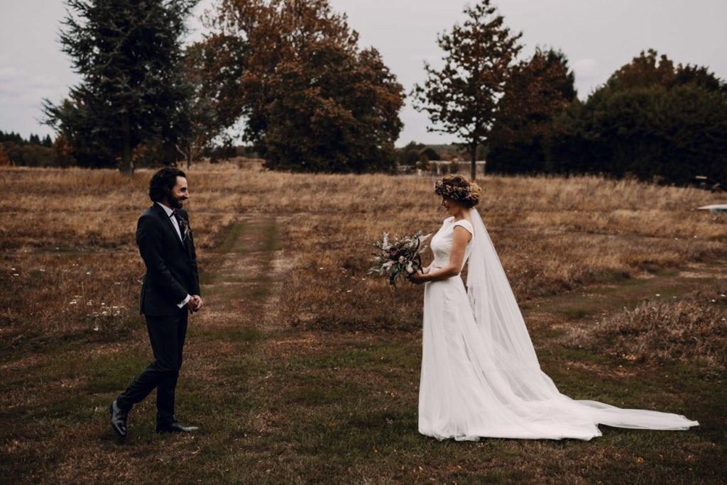 premier regard, mariage champêtre et végétal, Angers