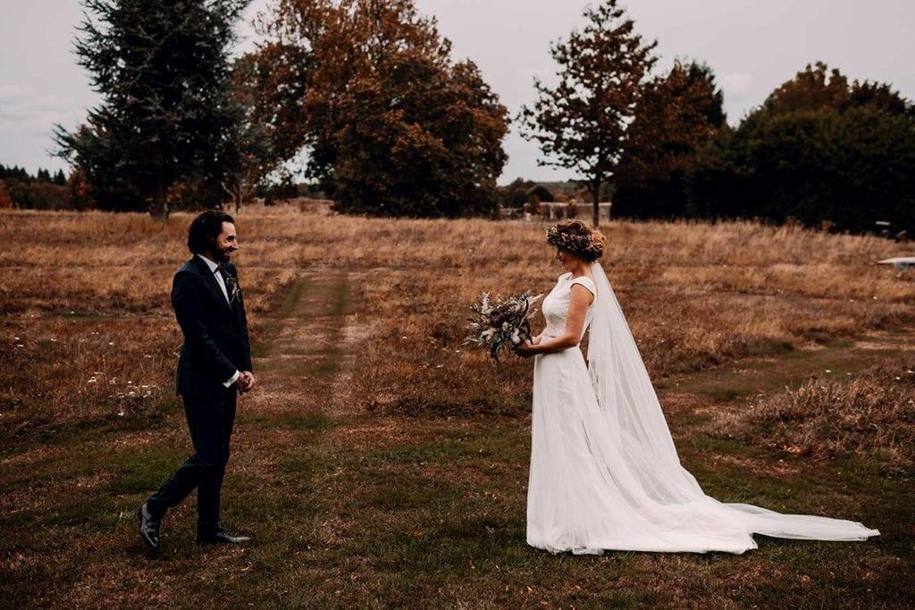 premier regard, mariage champêtre et végétal, Honfleur