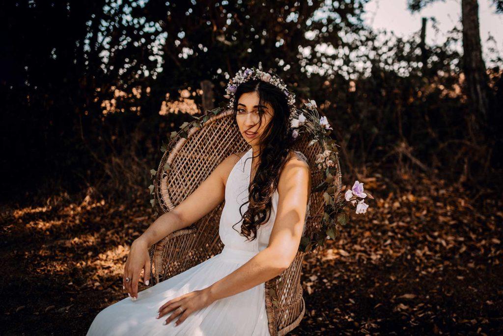 photographe mariage champêtre et bohème Houlgate