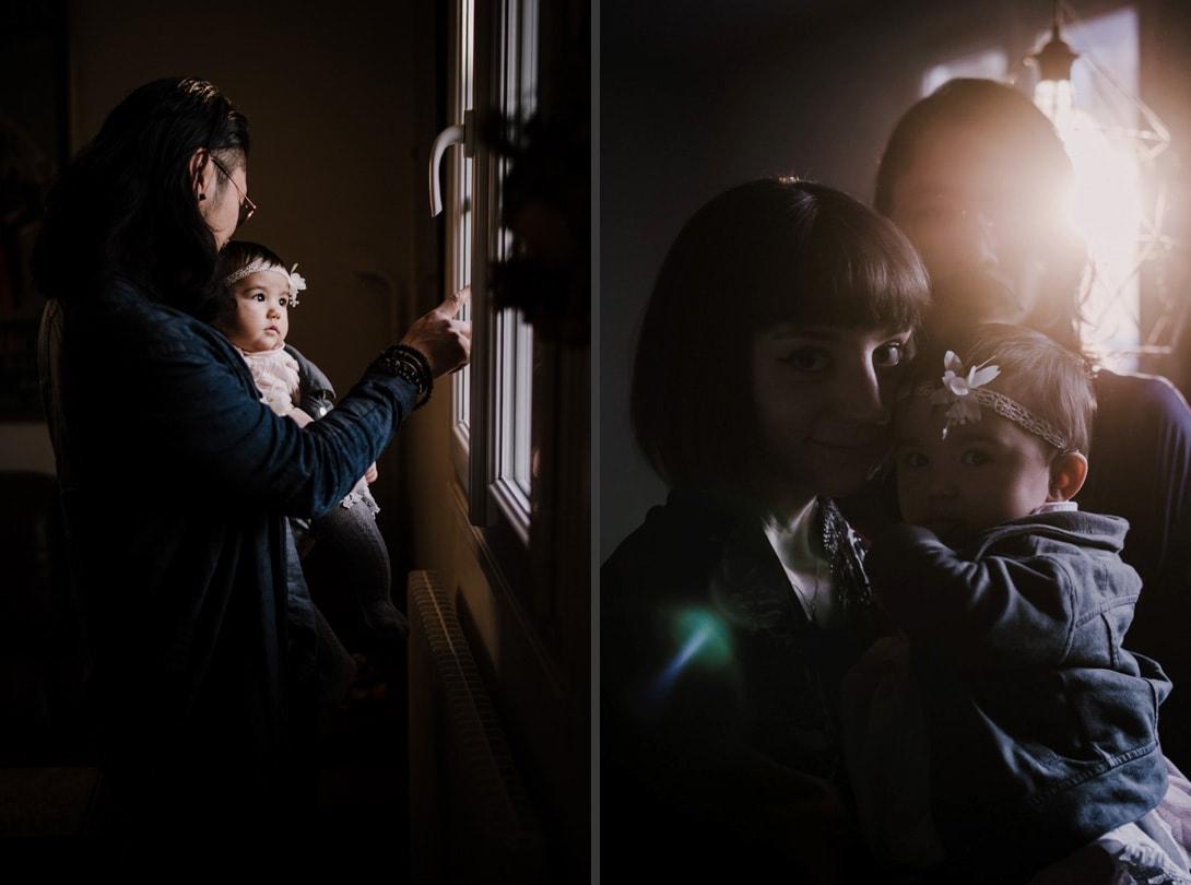photographe famille normandie couple bébé