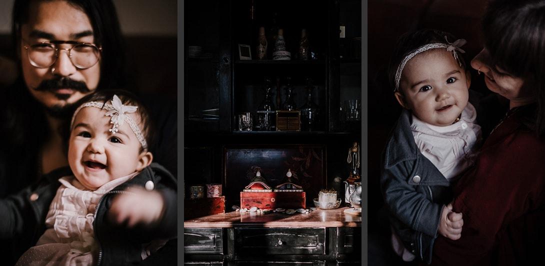 3 photographies famille enfant hina matsuri