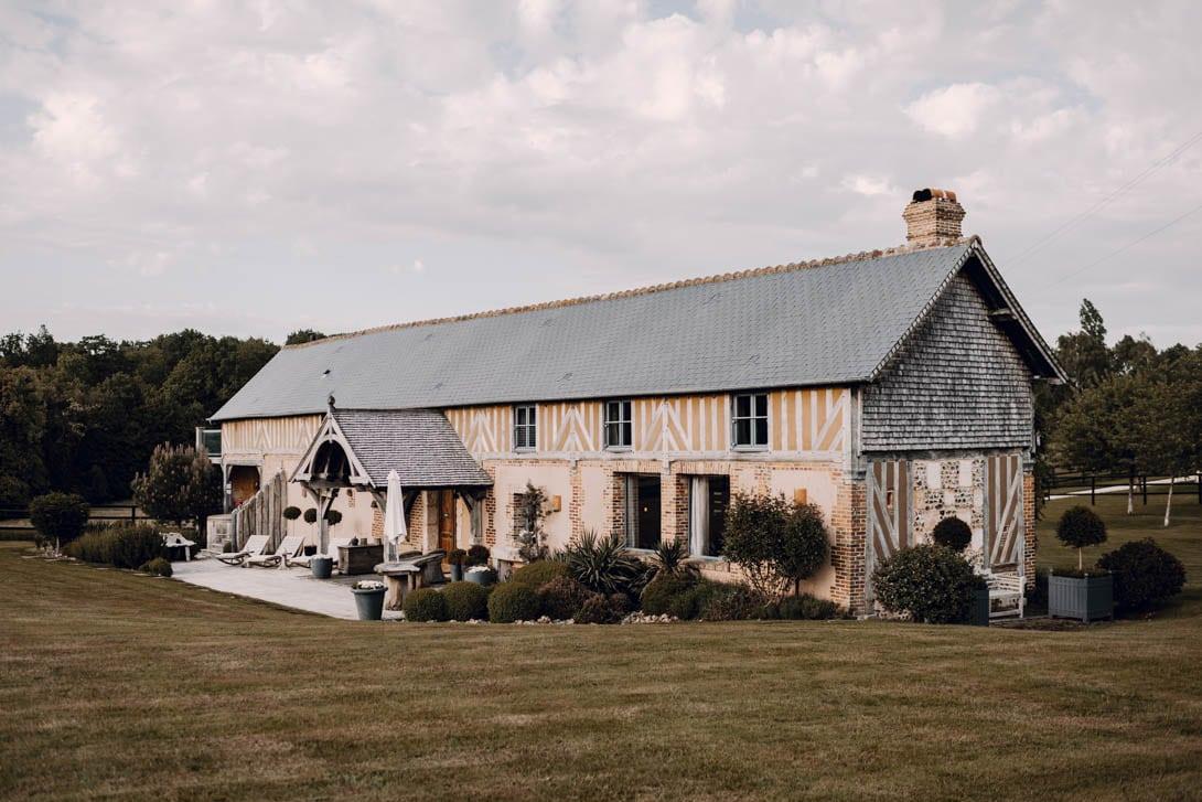 le pré des colombiers, gites et salle de réception mariage dans le Calvados