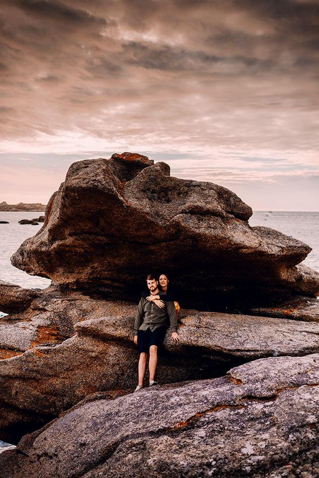 photographe couple tregastel
