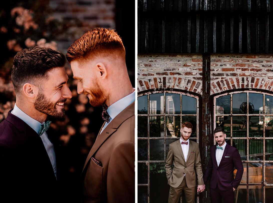 photos de couple Gay, mariage Les Bonnes Joies