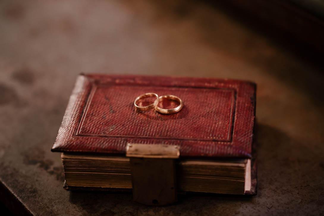alliances paulette à bicyclette pour un mariage