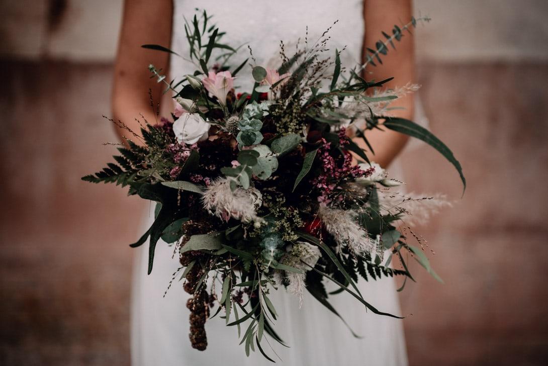 bouquet de mariage automnale