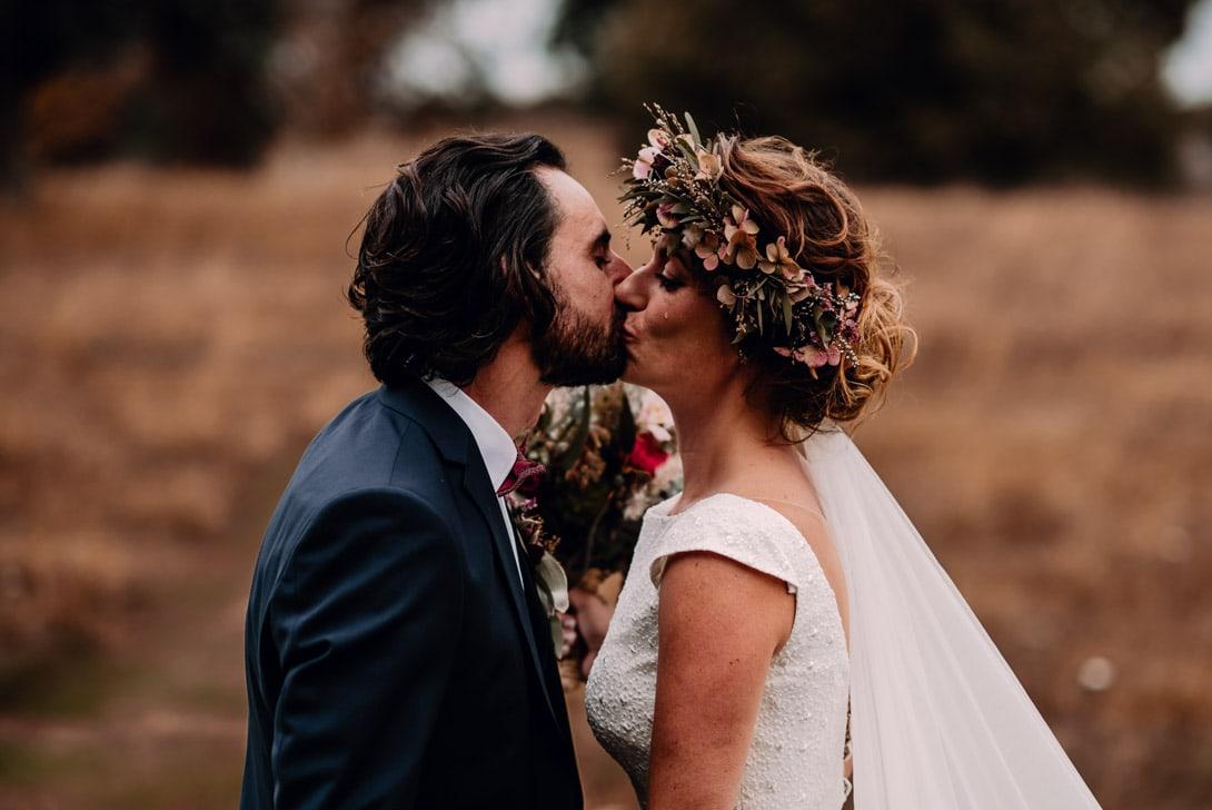 un baiser et une larme, mariage automne normandie